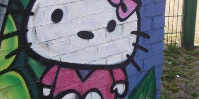 Streetart von graph-efx - Auftrags-Graffiti, Objekt, Raum, Fassadengestaltung und Illustration in Köln