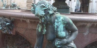Hygieia-Brunnen in Hamburg