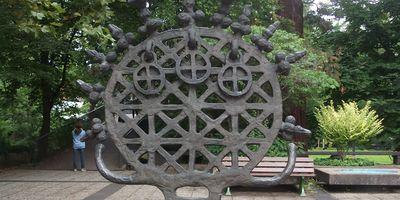 Hethitische Sonnenscheibe - Bronzestandarten von Alaca Höyük in Bonn