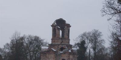 Merkurtempel im Schlossgarten in Schwetzingen
