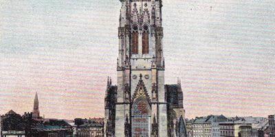 Mahnmal St. Nikolai - Hauptkirche St. Nikolai in Hamburg