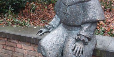 Kurfürst Clemens-August-Denkmal in Krefeld