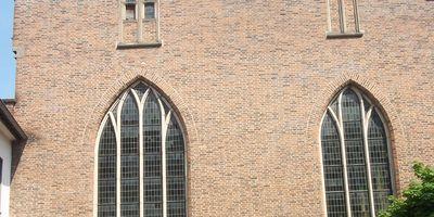 Minoritenkirche in Kleve am Niederrhein