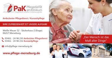 PaK Pflegedienst am Klinikum GmbH in Merseburg an der Saale