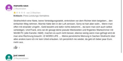 Giedow Frank Rechtsanwalt in Wismar in Mecklenburg