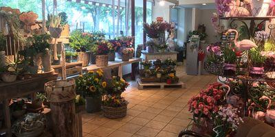 Blumen Arkarde in Bielefeld