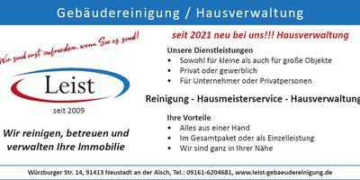 Leist Gebäudereinigung / Hausverwaltung in Neustadt an der Aisch