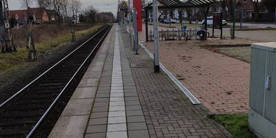 Bahnhof Petershagen-Lahde in Petershagen an der Weser
