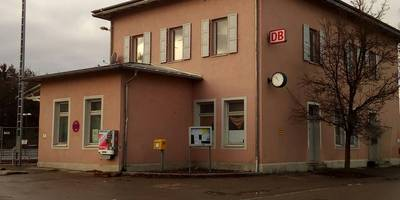 Bahnhof Türkheim (Bay) in Berg Markt Türkheim