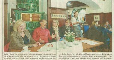 Restaurant Wolfsbrunnen in Heidelberg