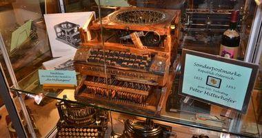 Willi Heinlein Schreibmaschinen Museum in Hoffenheim Stadt Sinsheim