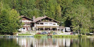 Gasthaus Seeklause Ehegartner Josef in Hintersee Gemeinde Ramsau