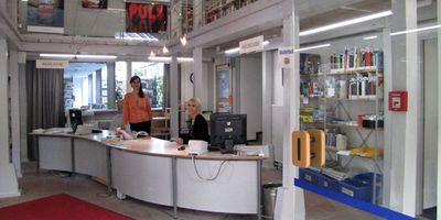 Stadtbücherei in Walldorf in Baden