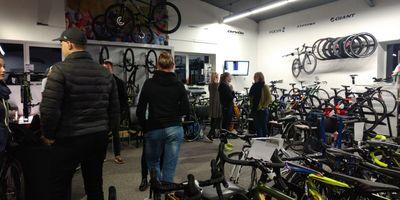 Fahrrad-Station-Weiche in Flensburg