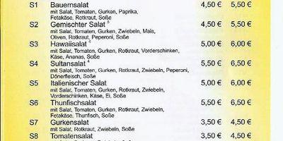 Sultan-Grill & Pizza-Haus in Bad Blankenburg