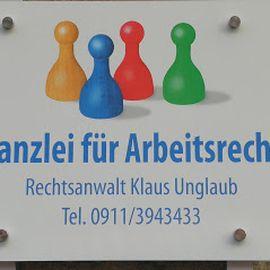 Bild zu Rechtsanwalt Klaus Unglaub - Kanzlei für Arbeitsrecht in Nürnberg