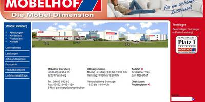 Möbelhof Parsberg GmbH in Parsberg