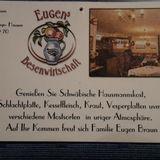 Eugens Besenwirtschaft in Hausen Stadt Schelklingen