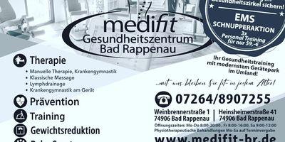 Medifit Kövari-Esencan Physiotherapeutin in Bad Rappenau