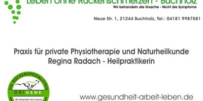 Leben ohne Rückenschmerzen, Buchholz-Nordheide in Buchholz in der Nordheide