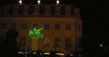 Christkind'l-Markt / Weihnachtsmarkt Bad Lauchstädt in Bad Lauchstädt