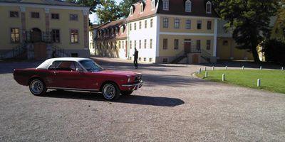 Schloss und Park Belvedere in Weimar in Thüringen