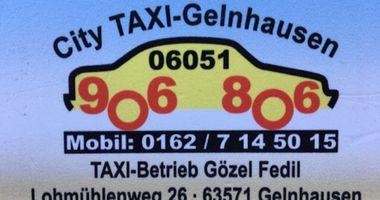Gözel/ Taxibetrieb Fedil in Gelnhausen