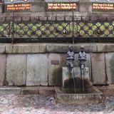 Wasserkunst in Wismar in Mecklenburg
