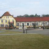 Die Bühne im Bahnhofshotel in Bad Saarow