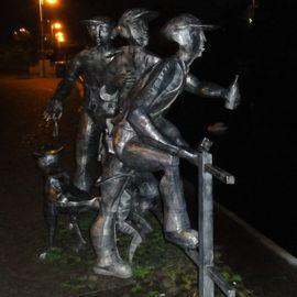 Bild zu Schleusenspucker Denkmal in Rathenow