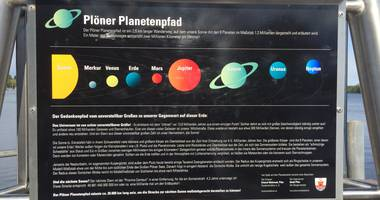 Planetenpfad in Plön
