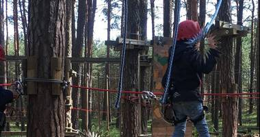 Climb up - Kletterwald in Klaistow Stadt Beelitz in der Mark