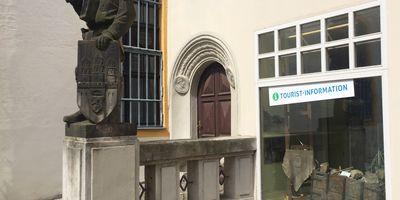 Bergmannsdenkmal in Freiberg in Sachsen