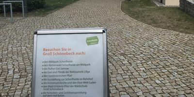 Touristeninformation Groß Schönebeck in Schorfheide