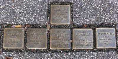 Stolpersteine Fam. Diacz in Lübeck