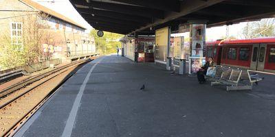 S- & U-Bahnbahnhof Berliner Tor in Hamburg