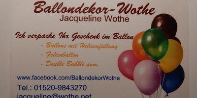 Ballondekor-Wothe in Mühlenbeck Kreis Oberhavel Gemeinde Mühlenbecker Land