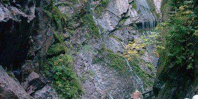 Wimbachklamm in Ramsau bei Berchtesgaden