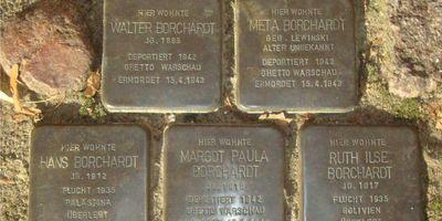 Stolpersteine Familie Borchardt in Kremmen