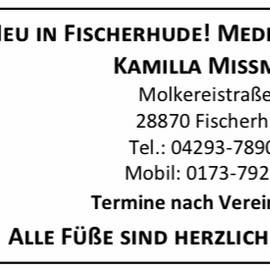 Bild zu Fußpflege Missmann in Ottersberg