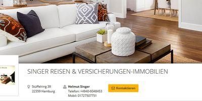 SINGER Reisen & Versicherungen in Hamburg