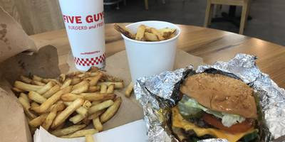Five Guys in Stuttgart