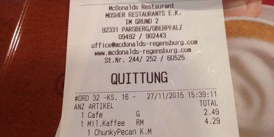 McDonald's in Parsberg