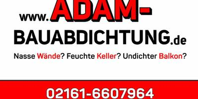 ADAM Bauabdichtung in Mönchengladbach