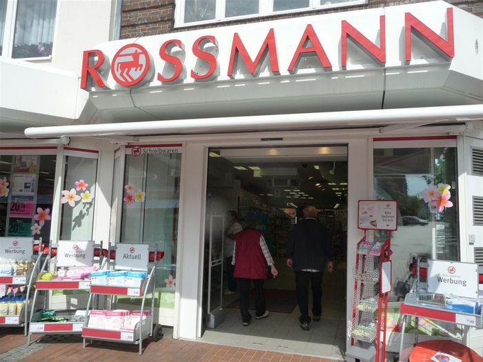 bilder und fotos zu rossmann drogeriemarkt in b sum alleestra e. Black Bedroom Furniture Sets. Home Design Ideas
