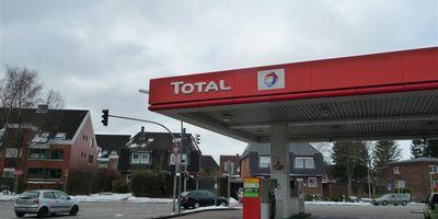 TOTAL Tankstelle in Rellingen
