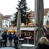 Amberger Weihnachtsmarkt in Amberg in der Oberpfalz