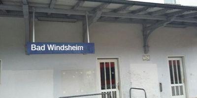Bahnhof Bad Windsheim in Bad Windsheim
