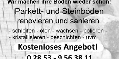 woodandstone.de Parkett u. Steinboden renovieren verlegen in Schermbeck