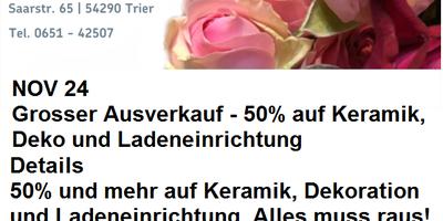 Das Blumenwerk Inh. A. Meis in Trier